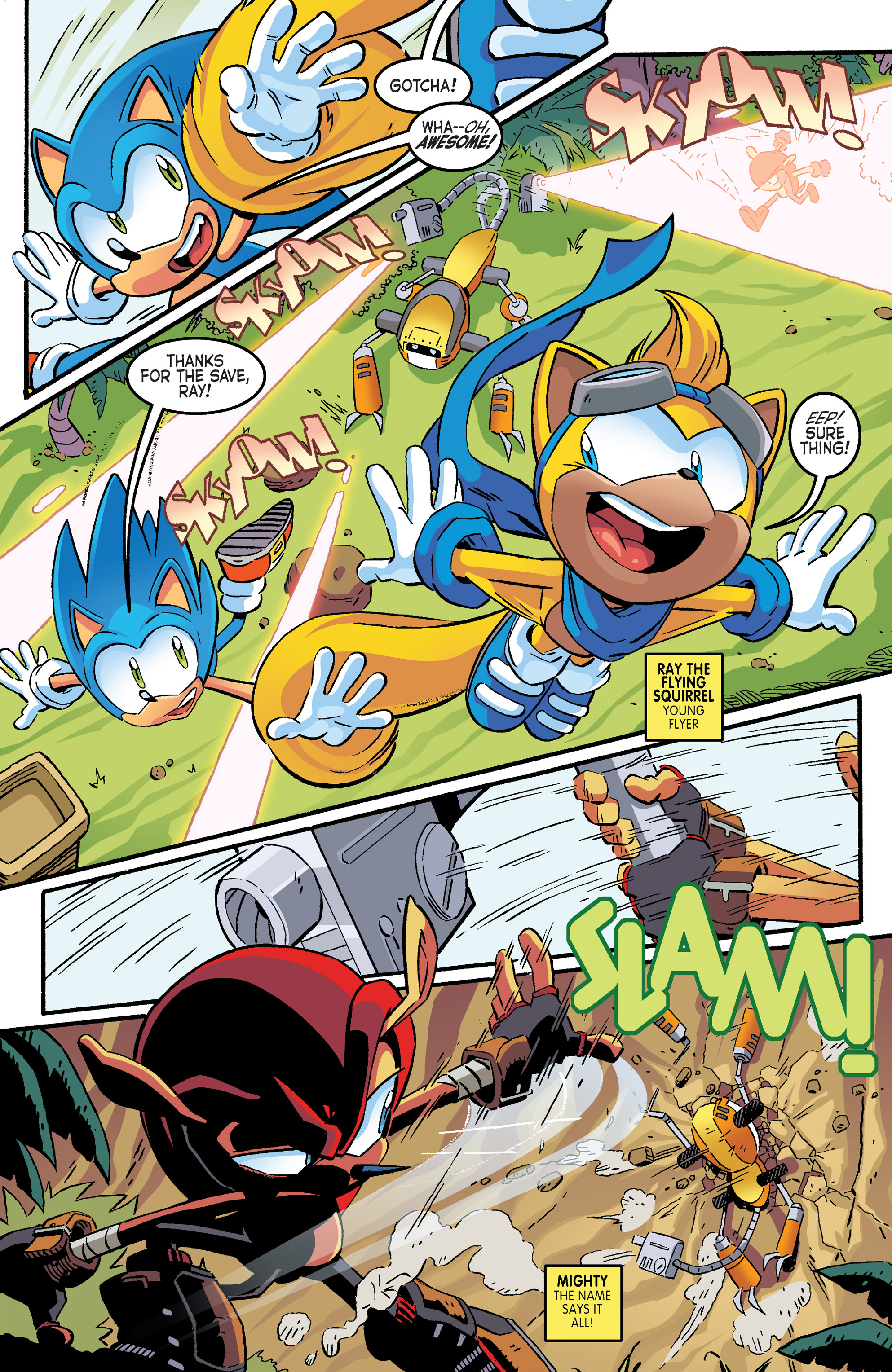 Read online Sonic The Hedgehog comic -  Issue #264 - 6