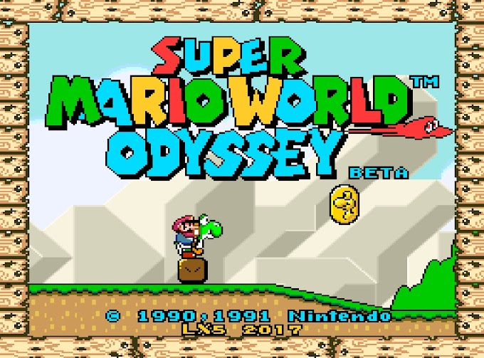 Download Rom Hack - Super Mario World Odyssey BETA [SNES]