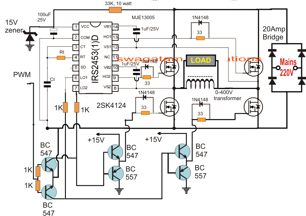 manual bridge rectifier circuit diagram design