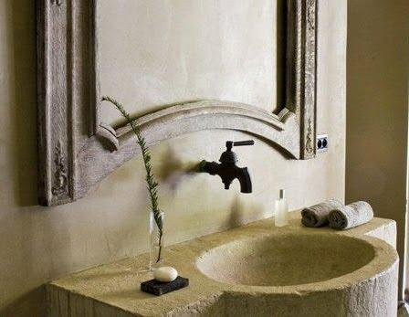 Faucet and bath photo by Pia Van Spaendonck in Maisons Coté Est Magazine, edited by lb for linenandlavender.net, post:  http://www.linenandlavender.net/2010/05/design-daily_12.html