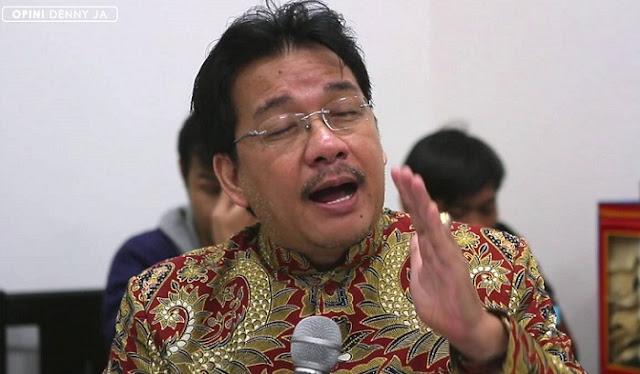 Denny JA Tanggapi Fahri Hamzah yang Kesal Gegara 'Survei Nggak Mutu'
