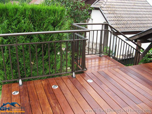 Những mẫu lan can + tay vịn cầu thang sắt đẹp nhất tháng 11/2016