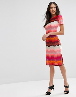 ASOS Rainbow dress, Rainbow dress, Lyst, Pencil Dress