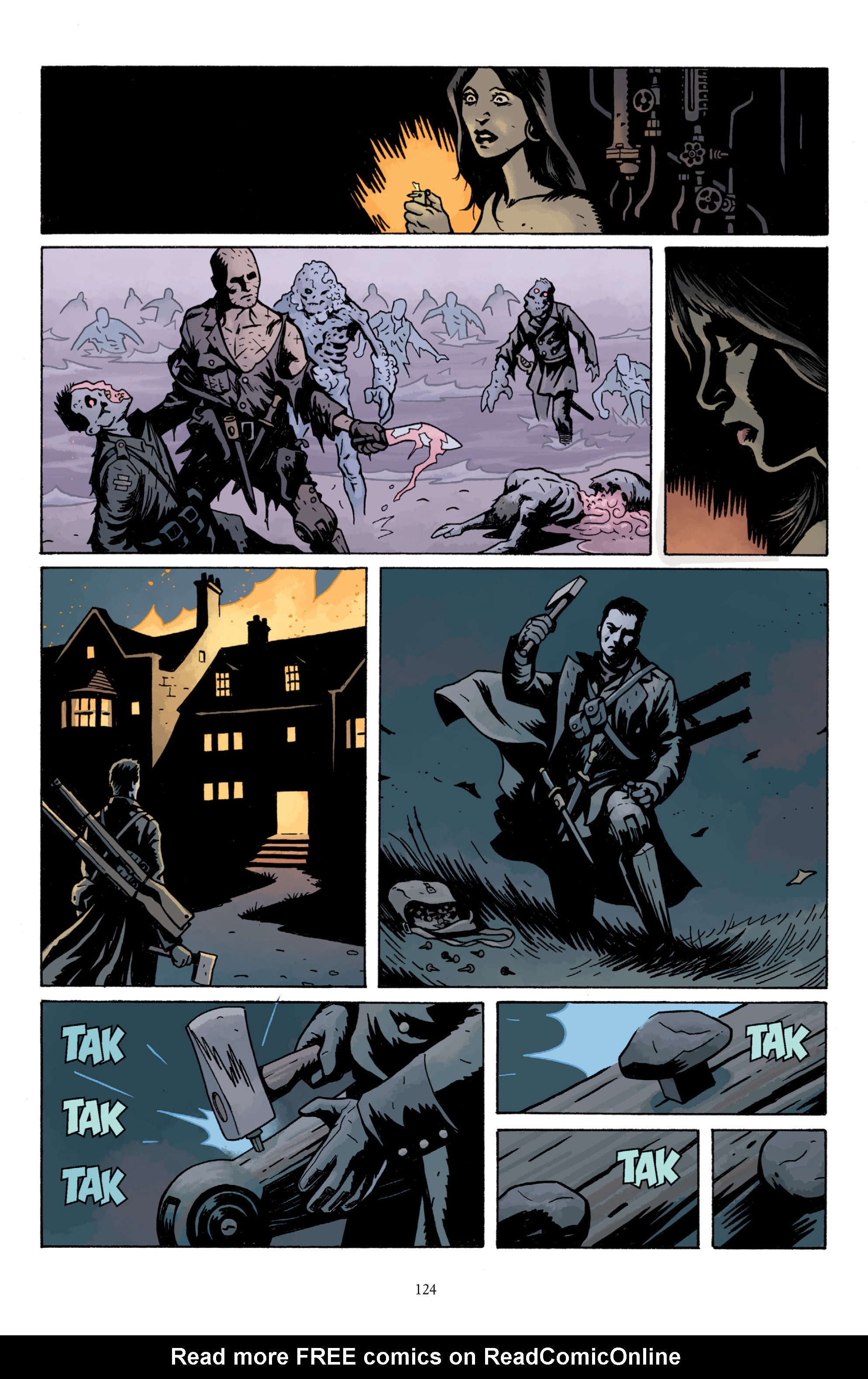 Read online Baltimore: The Plague Ships comic -  Issue # TPB - 123