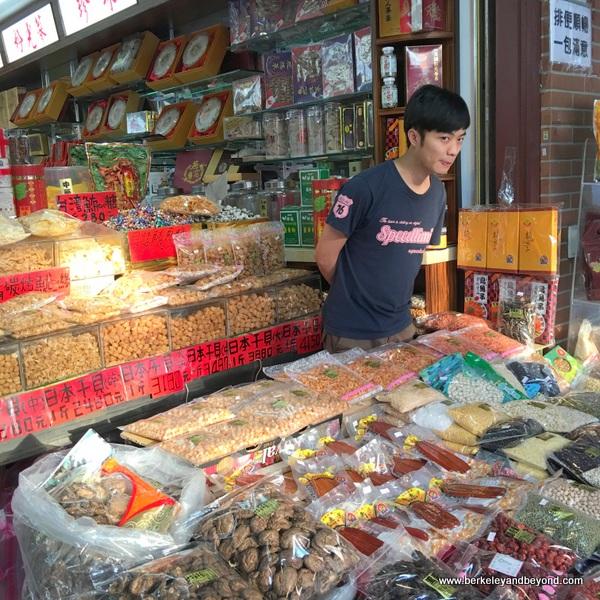 snack shop on Dihua Street in Taipei, Taiwan