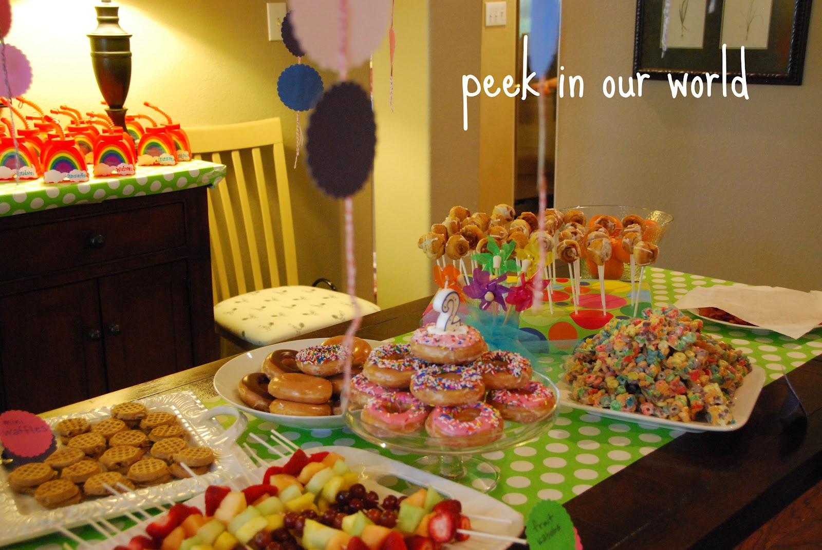 Peek In Our World Birthday Breakfast Extravaganza