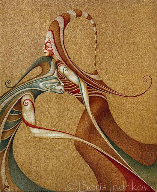 Il fantastico mondo della pittura Boris+Indrikov+artworks