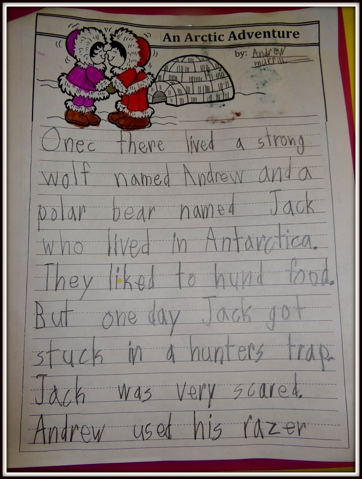 More books we read as we were writing and finishing the Arctic Animals