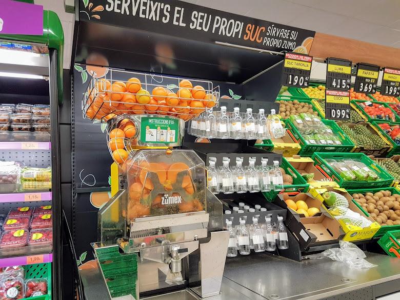 超市也可以喝現搾柳橙汁