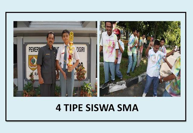 4 tipe siswa SMA