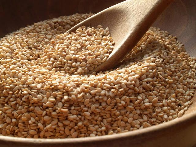 Semillas de sésamo contienen gran cantidad de calcio