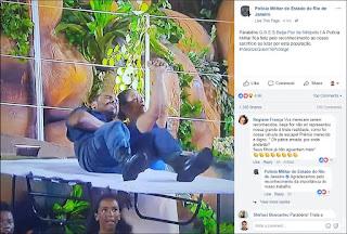 PM agradece a Beija-Flor por homenagem; 3 policiais foram mortos neste carnaval