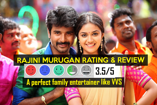 Rajini Murugan Rating