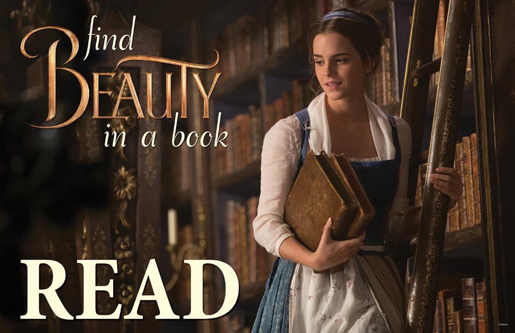 The American Library Association ALA Latest Celebrity READ Poster Features Emma Watson As Belle Measures 34 X 22 And Is Now Available From