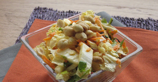 Wasabi-Ginger Coleslaw for One