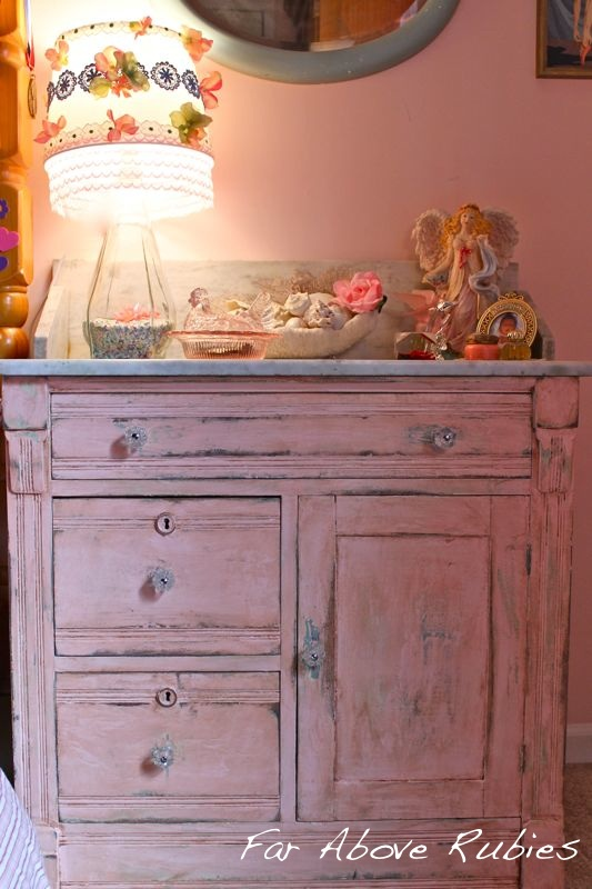 Finally I Painted A Piece Of Furniture Know It S Just That Grew Up With White Had All Through The 1990s