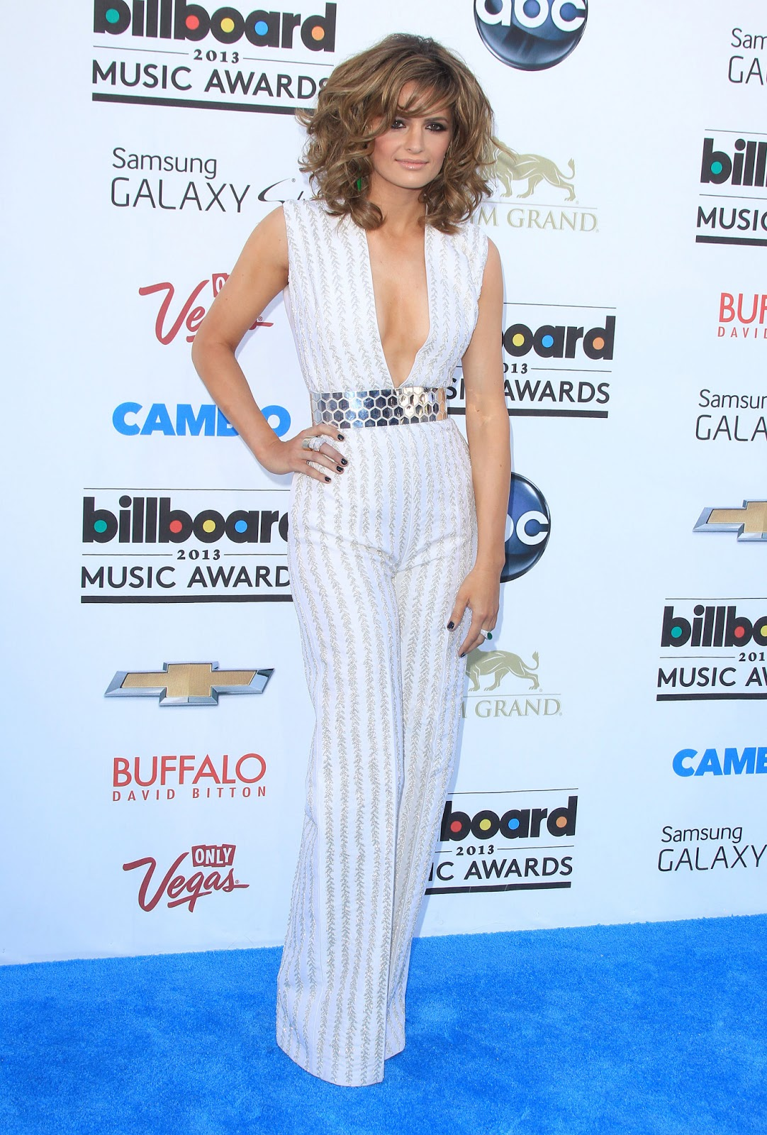 Billboard Music Awards 2016 The Best Hair And Makeup: Stana Katic - 2013 Billboard Music Awards