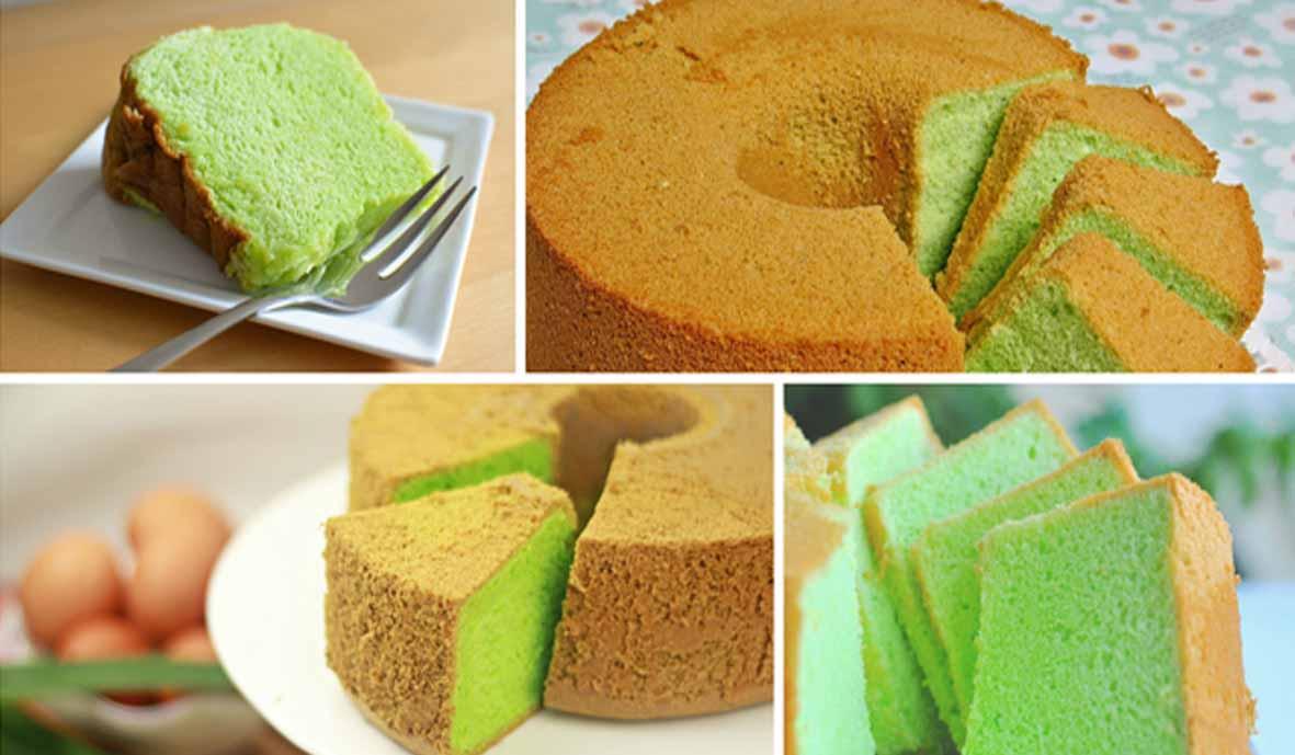 Resep Membuat Pandan Chiffon Cake