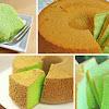 Rahasia Membuat Pandan Chiffon Cake Yang Cantik, Enak dan Anti Bantat