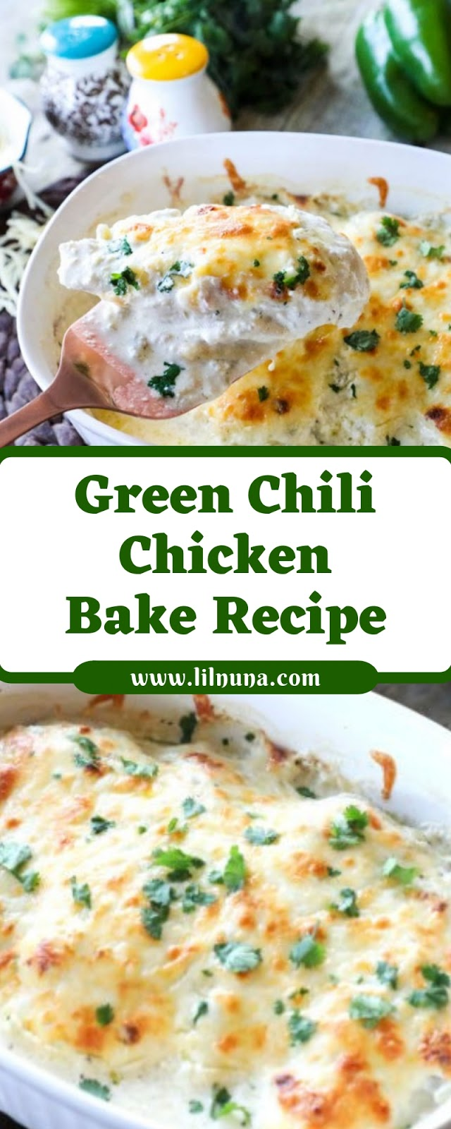 Green Chili Chicken Bake Recipe
