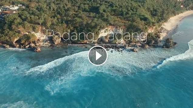 Padang Padang by drone