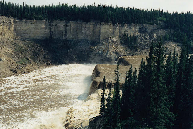 Louise falls - Twin Falls Gorge