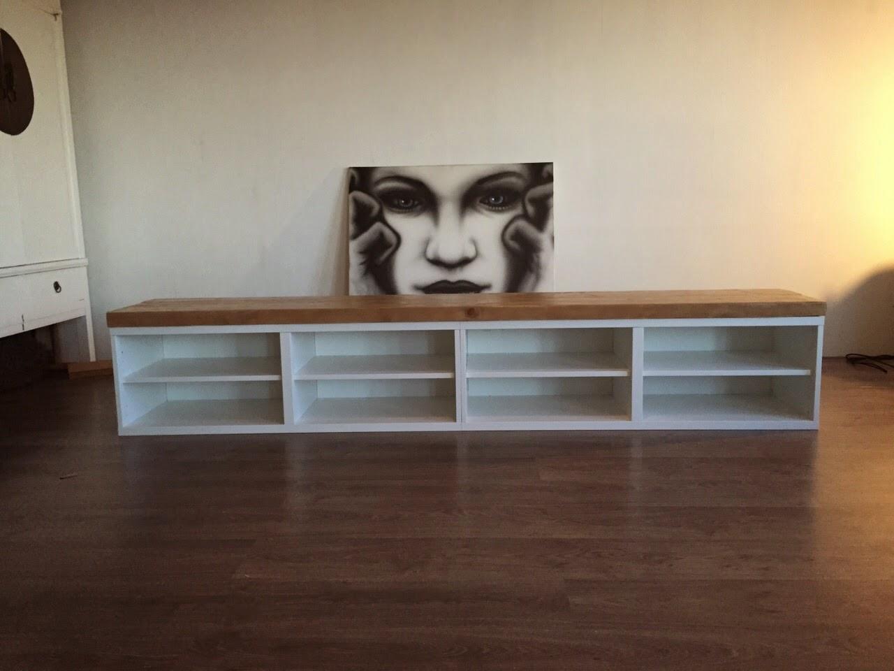tv meubel eenvoudig wit