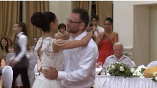 Ο επικός γαμήλιος χορός ζευγαριού στον Βόλο που έγινε viral!