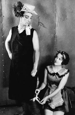 Buster Keaton In Drag