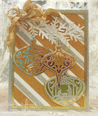 Our Daily Bread Designs, Tree Trimming Trio, Delightful Decorations, Fancy Foliage, by Robin Clendenning