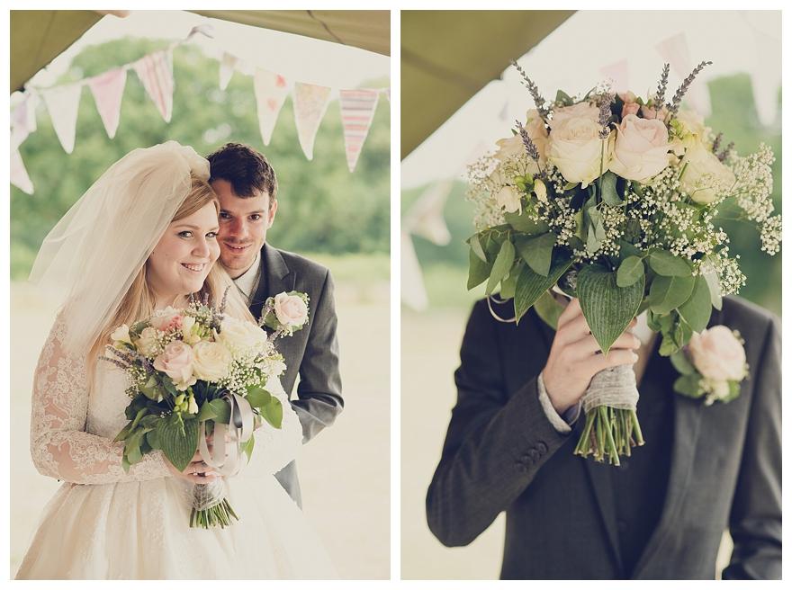 A Pretty Vintage-Inspired Garden Wedding