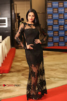 Actress Soniya Stills in Beautiful Black Long Dress at SIIMA Short Film Awards 2017 .COM 0088.JPG