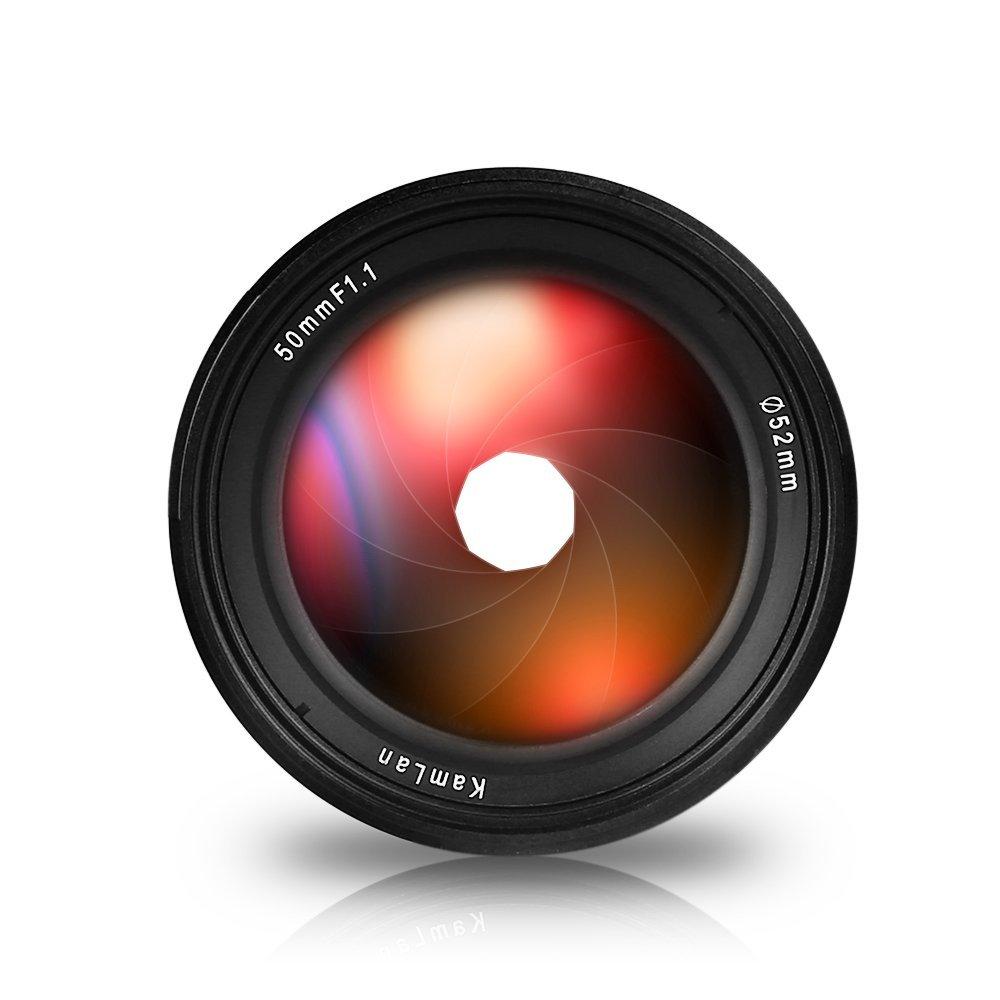 Объектив Kamlan 50mm f/1.1