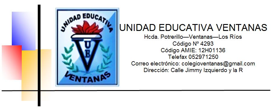 DOCENTES ~ UNIDAD EDUCATIVA VENTANAS 2016