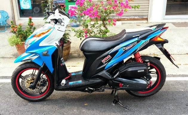 Top modifikasi vario 125