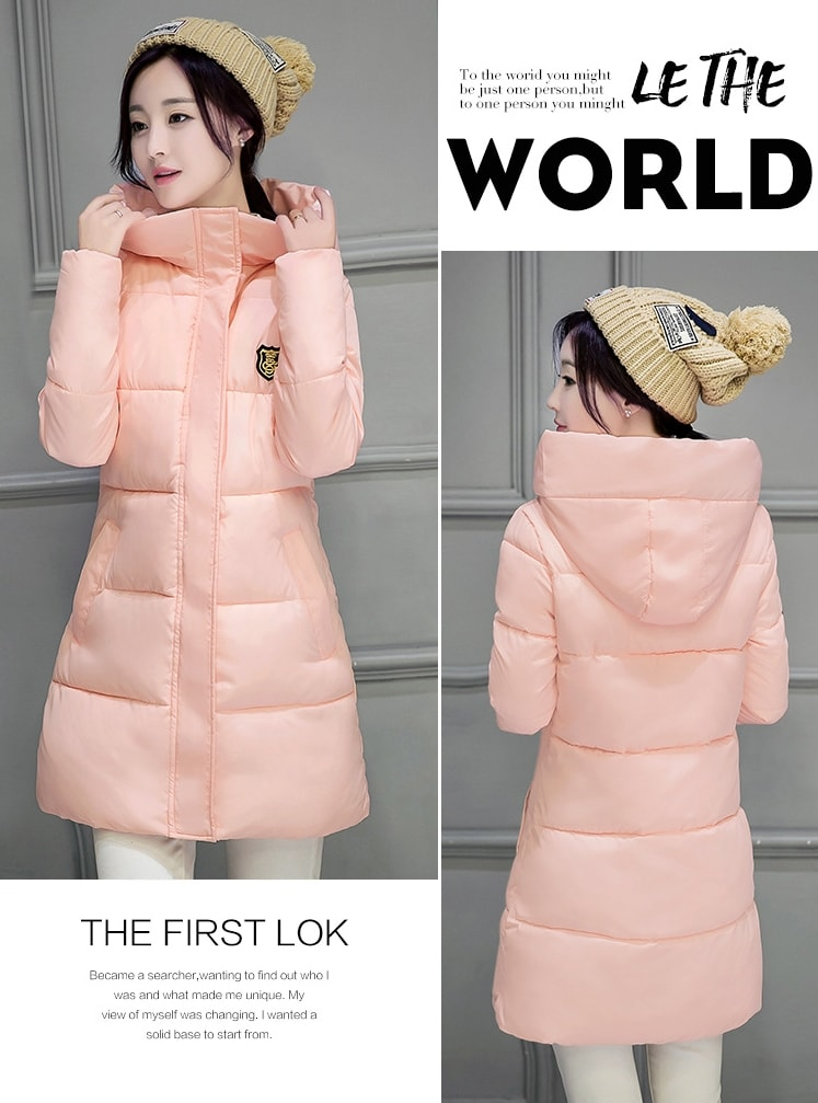 LONG COAT IMPORT KOREA STYLE - BAJU MUSIM DINGIN - JAKET BULU