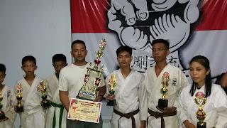Juara Umum, Dojo Bua Sabet Delapan Emas