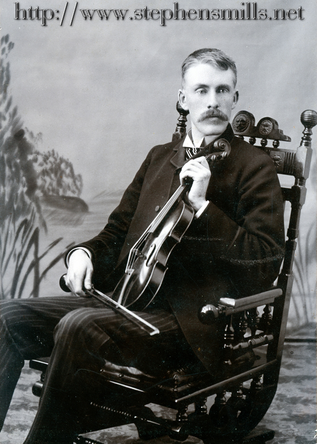 photo  Walter Bacon was part of the Bacon Family Orchestra which included his brother Herbert   and Herbert's children Myrtle Bacon,  Herbert Alton Bacon and Ralph Bacon.