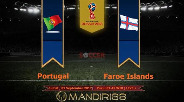 Prediksi Bola : Portugal Vs Faroe Islands , Jumat 01 September 2017 Pukul 01.45 WIB @ Soccer Channel