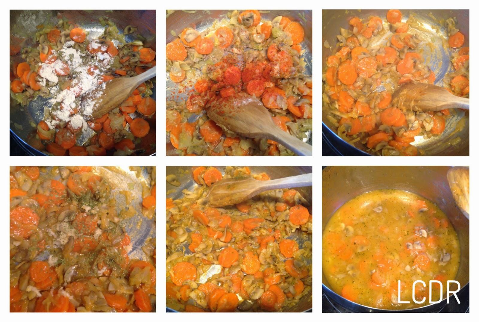 Receta de albóndigas de carne en salsa: salsa 02