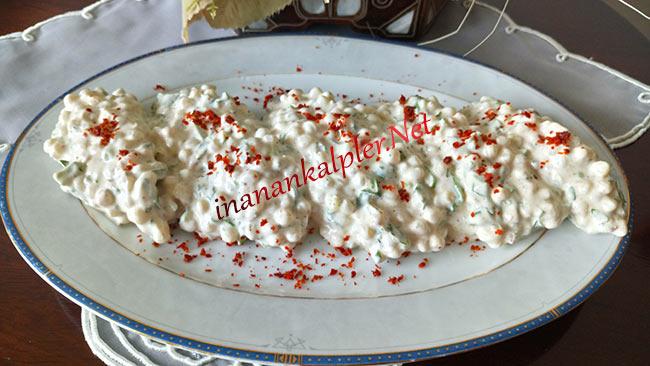 Yoğurtlu Kuskus Salatası - inanankalpler.net