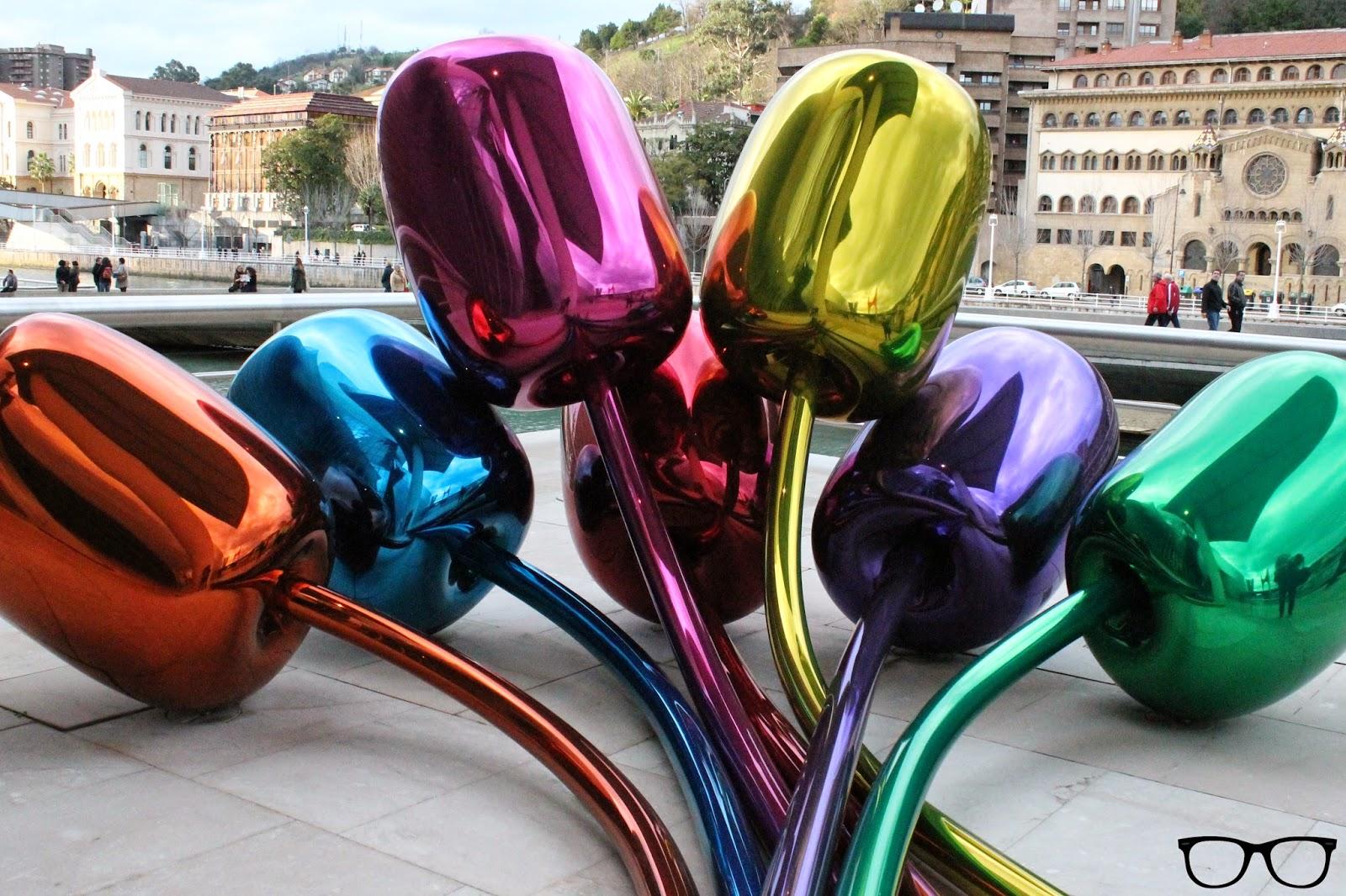 Obra: Tulipanes - Jeff Koons