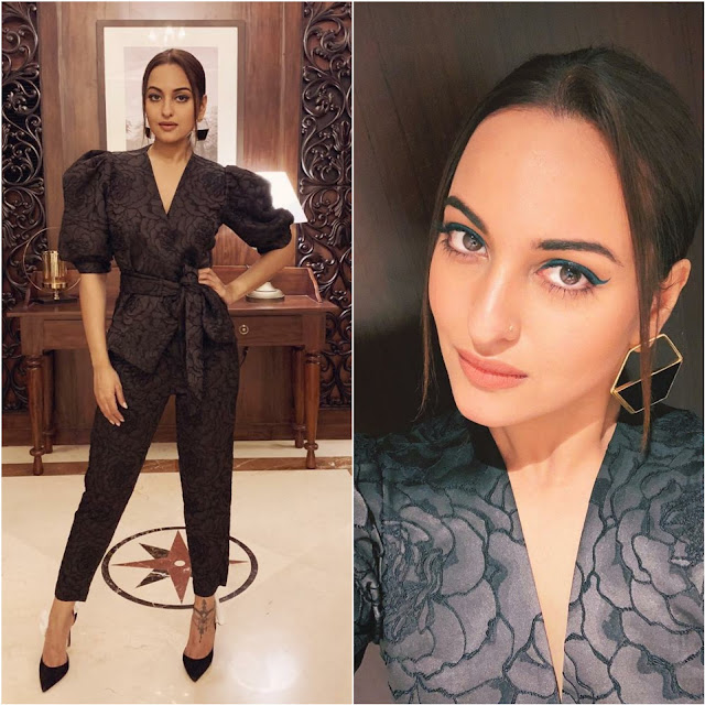 Sonakshi Sinha Wears Romy Collection and Varnika Arora