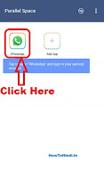 how to use 2 whatsapp in one android mobile