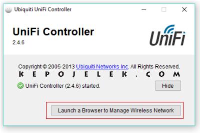 Tutorial Konfigurasi Unifi Controller