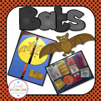 Students can learn about bats as they read fiction and nonfiction text. I've provided lots of activities in this post.