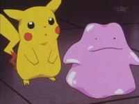 Pikachu y Ditto