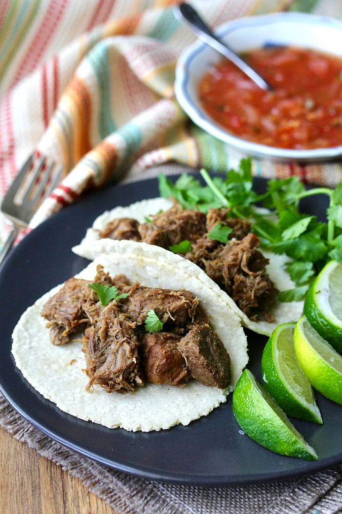 Beer Braised Carnitas with limes
