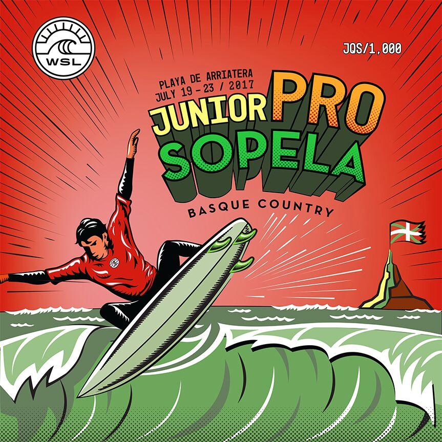Junior Pro Sopela 2017 poster