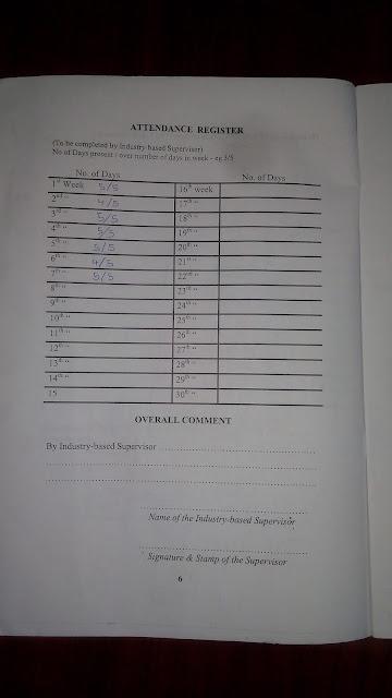 attendance reg 2
